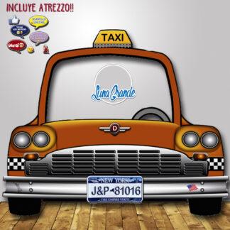 Photocall Coche Taxi NY