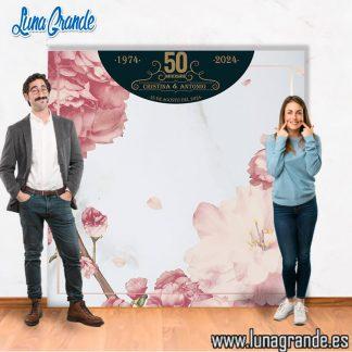 photocall para aniversarios de boda