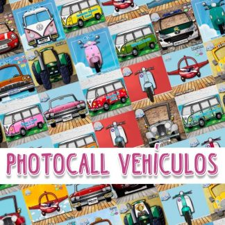 Photocall Coches